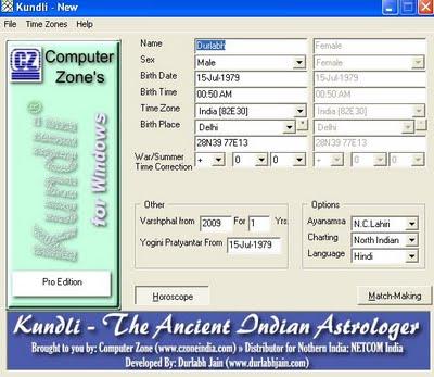 horoscope maker software free download